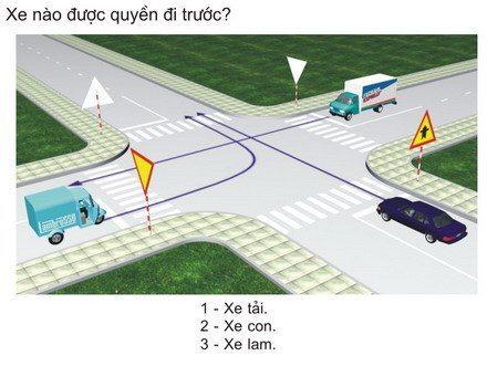 Tài Liệu Học Lái Xe Ô Tô 450 Câu Lý Thuyết Hạng B2, C, D, E