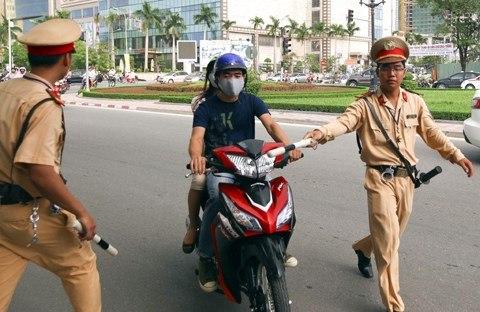 Lỗi không có bằng lái xe máy