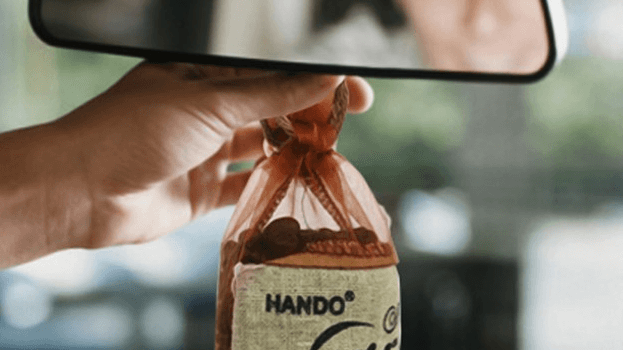 Túi Cafe Treo Xe Có Tác Dụng Gì & Cách Dùng Túi Cafe Khử Mùi Ô Tô