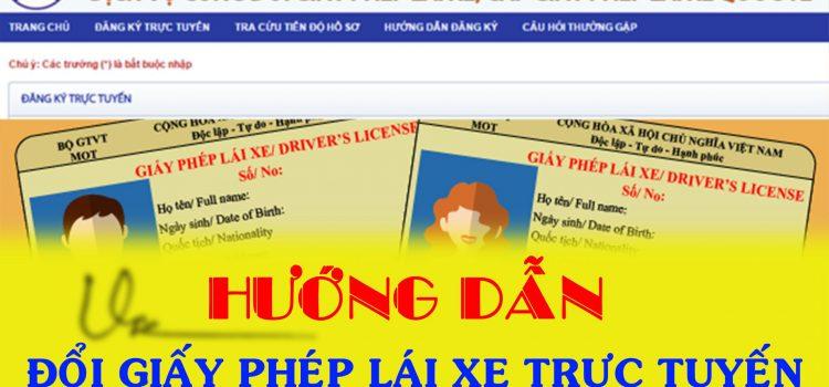 Đổi Giấy Phép Lái Xe Qua Mạng Tại TPHCM Nhanh Nhất