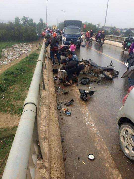 tai nạn giao thông tại cầu