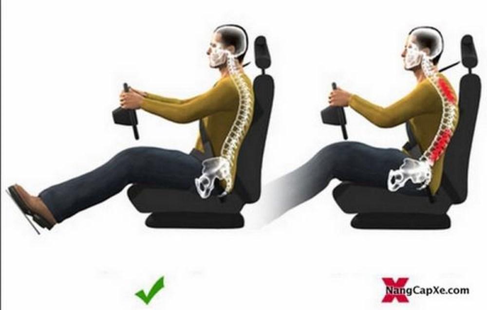 Cách chỉnh tư thế ngồi lái xe ô tô