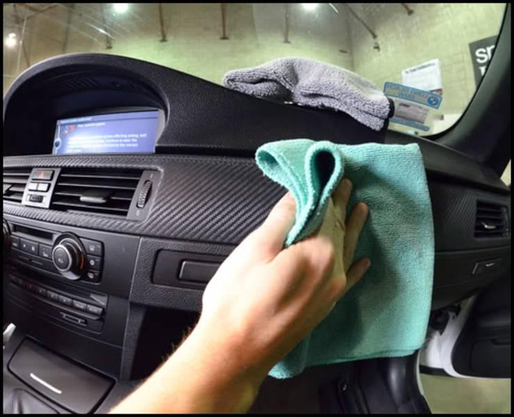khử mùi hôi trong xe ô tô