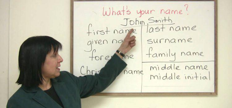 First Name Là Gì – Last Name Là Gì – Cách Viết Tên Bằng Tiếng Anh