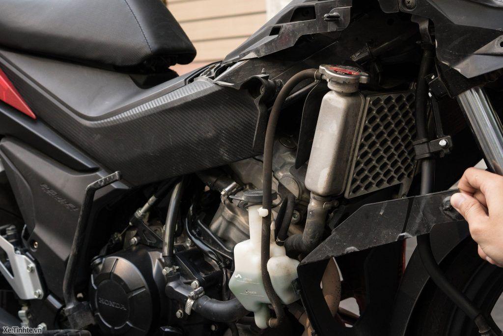 nhiệt độ xe máy